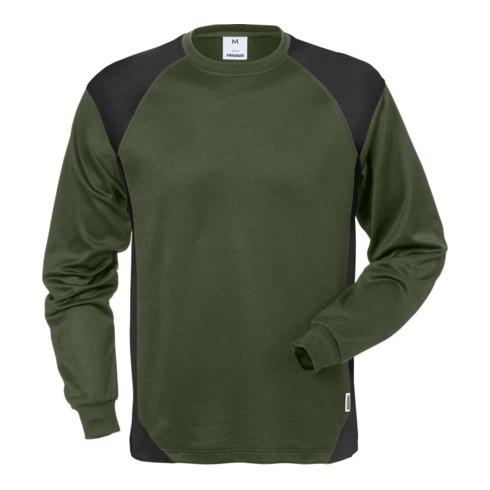 Fristads Langarm-T-Shirt 7071 THV Grün (Herren)