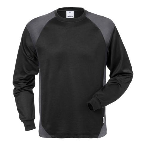 Fristads Langarm-T-Shirt 7071 THV Schwarz/Grau (Herren)