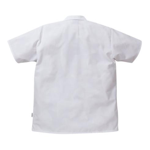 Fristads LMI Hemd Kurzarm 7001 P159 Weiß (Unisex)