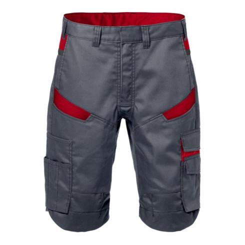 Fristads Shorts 2562 STFP Rot; Grau (Herren)
