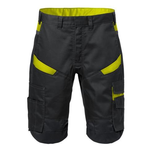 Fristads Shorts 2562 STFP Schwarz/Gelb (Herren)