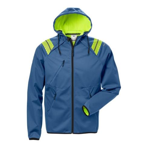 Fristads Softshell-Jacke mit Kapuze 7461 BON Blau (Herren)