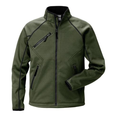 Fristads Softshell Stretch-Jacke 4905 SSF Grün (Herren)