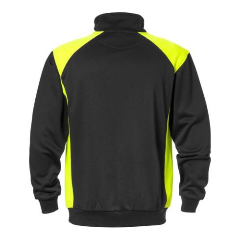 Fristads Sweatshirt 7048 SHV Schwarz/Gelb (Herren)