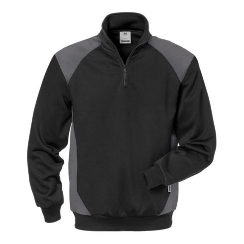Fristads Sweatshirt 7048 SHV Schwarz/Grau (Herren)