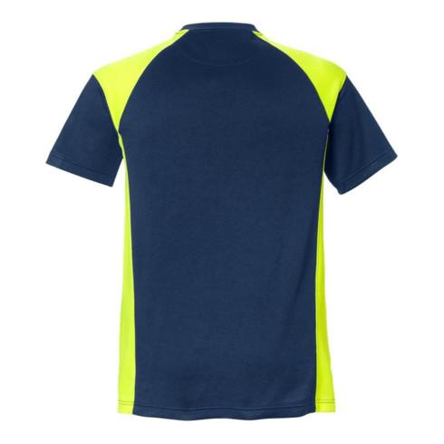 Fristads T-Shirt 7046 THV Marine/Gelb (Herren)