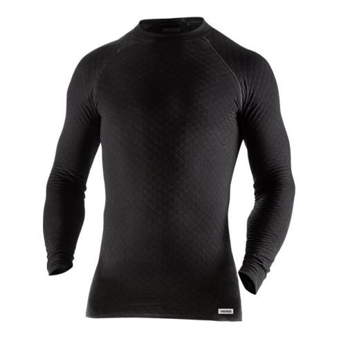 Fristads T-Shirt Langarm 743 PC Schwarz (Herren)