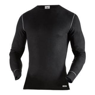 Fristads T-Shirt Langarm 787 OF Schwarz (Herren)