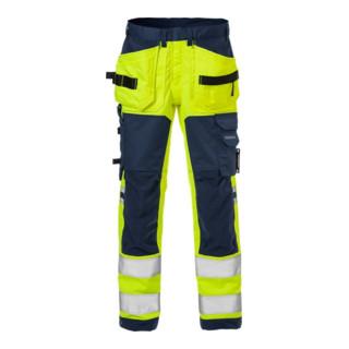 Fristads Warnschutz Handwerkerhose Kl. 2 2612 PLUS Dunkelblau (Herren)