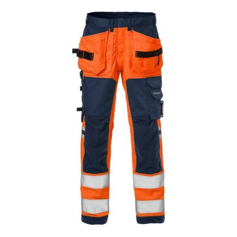 Fristads Warnschutz Handwerkerhose Kl. 2 2612 PLUS Orange (Herren)