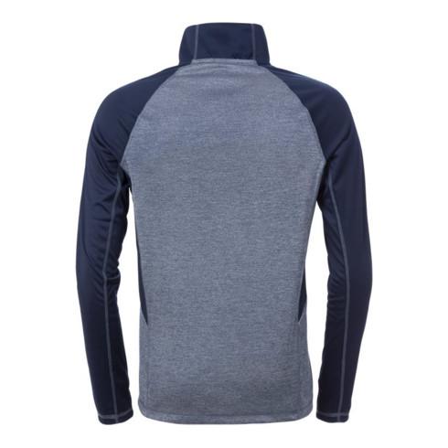 Fristads Zipper-Sweatshirt Langarm 7514 LKN Blau (Herren)