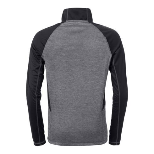 Fristads Zipper-Sweatshirt Langarm 7514 LKN Schwarz (Herren)