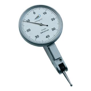 Fühlhebelmessgerät DIN2270 -0,4 bis +0,4mm Aussenring 40,5mm Ablesung 0,01mm