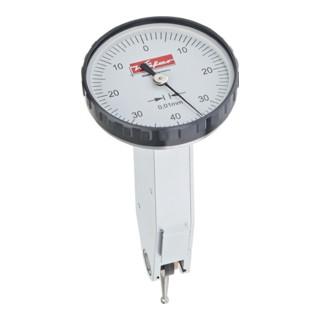 Fühlhebelmessgerät K32 0,8mm Ablesung 0,01mm rückwärtig