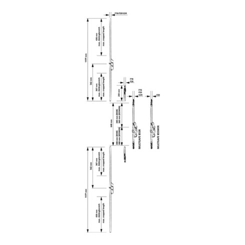 Fuhr Reno-Schloss Multisafe 855R Dorn 40mm Enft.92mm F-Stulp 20mm PZ Nuss 10mm