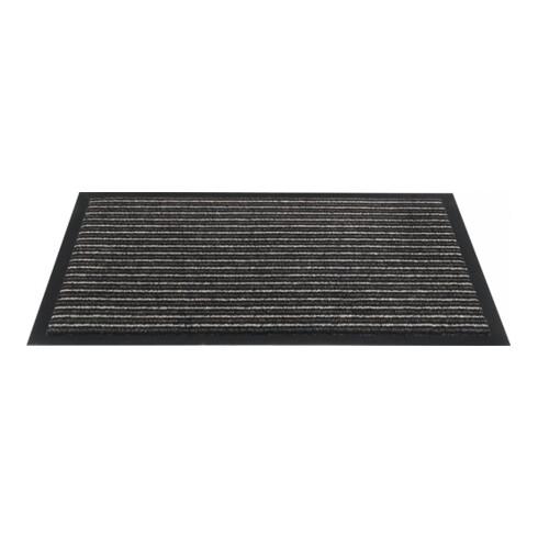 Fußmatte gestreift bronze PP L400xB600xS5mm