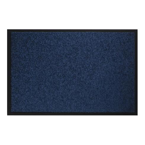 Fußmatte waschbar blau PA L600xB900xS8mm
