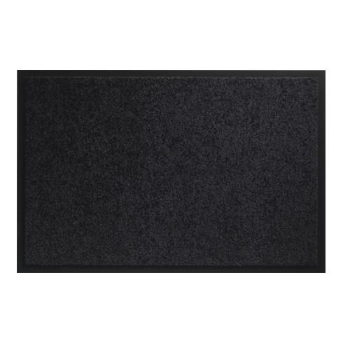 Fußmatte waschbar schwarz PA L400xB600xS8mm