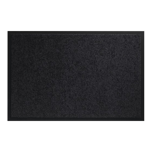 Fußmatte waschbar schwarz PA L900xB1500xS8mm