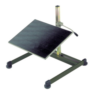 Fußstütze Basic anthrazit Neig. 8-25 Grad H.65-410mm Stahlrohr m.Gleitern BIMOS