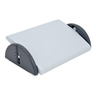 Fußstütze Kunststoff lichtgrau B450xT350mm 4-fach höhenverstellbar