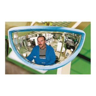 Gabelstaplerspiegel f.vorne B288xT68xH151mm ca.180 Grad Blickwinkel m.Halterung