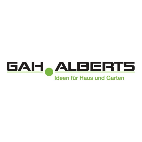 GAH Alberts Türriegel L.140mm B.52mm STA galv. gelb verz. GAH
