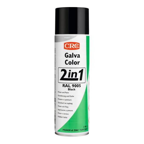 Galvacolor 9005 Schwarz Rostschutzfarbe 2-in-1 500 ml CRC