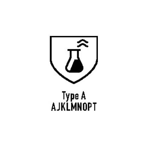 Gant protection chimique AlphaTec 58-735 T. 9 vert EN 388, EN 374 cat. III ANSEL