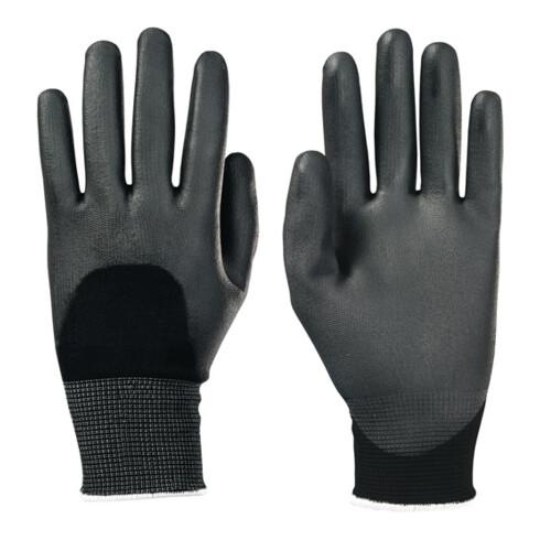 Gants Camapur Comfort 626 taille 6 noir tricot polyamide avec polyuréthane EN 38