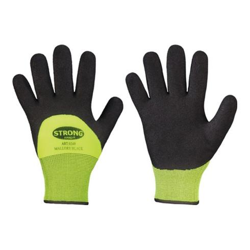 Gants de protection contre le froid Mallory/Black taille 10 noir/jaune 100% nylo