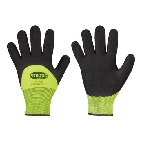 Gants de protection contre le froid Mallory/Black taille 11 noir/jaune 100% nylo