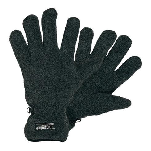 Gants de protection contre le froid T. XL noir/gris 100 % PES