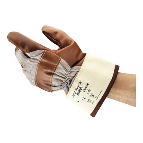 Gants de protection contre le froid Winter Hyd-Tuf 52-590 T. 10 marron jersey co