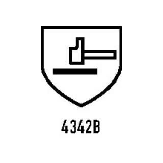 Gants de protection contre les coupures LeiKaTech® 1627 T. 10 bleu/noir fibre sp