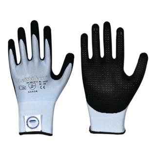 Gants de protection contre les coupures LeiKaTech® 1627 T. 8 bleu/noir fibre spé