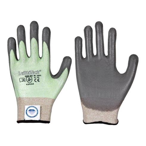Gants de protection contre les coupures LeiKaTech® 1641 taille 10 vert/gris fibr