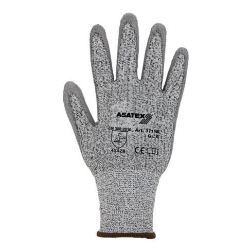 Gants de protection contre les coupures taille 10 gris/gris HDPE avec polyurétha