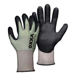 Gants de protection contre les coupures X-DIAMOND-FLEX taille 10 noir/vert clair