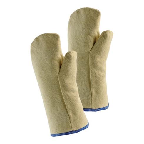 Gants de protection thermique Fauster, T. universelle nature tissu aramide EN 38