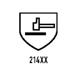 Gants PolyTRIX BN 914 taille 11 bleu/jaune polyamide EN 388 cat. II 10 pair
