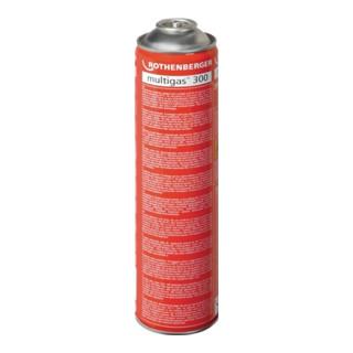 Gaskartusche Multigas 300 600ml ca.1950Grad C 40% Propan/60% Butan