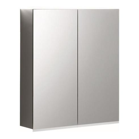 Geberit Spiegelschrank PLUS OPTION mit Beleuchtung, 2 Türen 750 x 700 x 172 mm