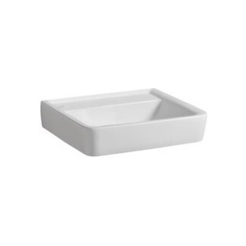 Geberit Waschtisch RENOVA PLAN ohne Hahnloch, ohne Überlauf 600 x 480 mm weiß