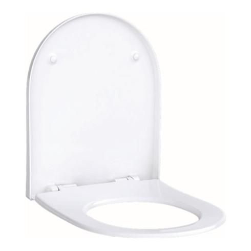 Geberit WC-Sitz ACANTO mit Quick-Release und Absenkautomatik, weiß