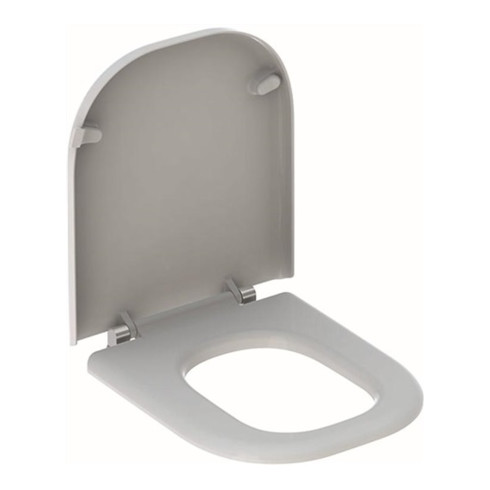 Geberit WC-Sitz RENOVA COMFORT barrierefrei, antibakteriell weiß