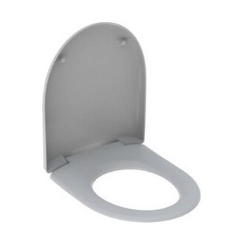 Geberit WC-Sitz RENOVA mit Absenkautomatik manhattan