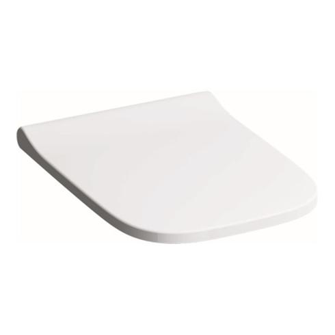 Geberit WC-Sitz Square SMYLE mit Absenkautomatik und Quick-Release weiß