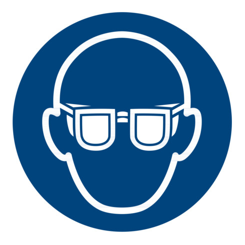 Gebotszeichen Augenschutz benutzen, Typ: 03050