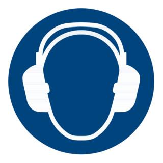 Gebotszeichen Gehörschutz benutzen, Typ: 04100